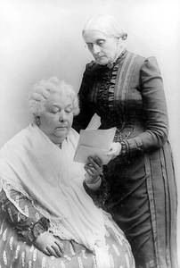 Elizabeth Cady Stanton and Susan B. Antony were two old friends