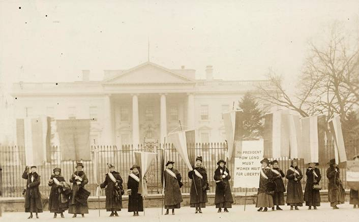 The Forgotten Women Suffrages of 1917