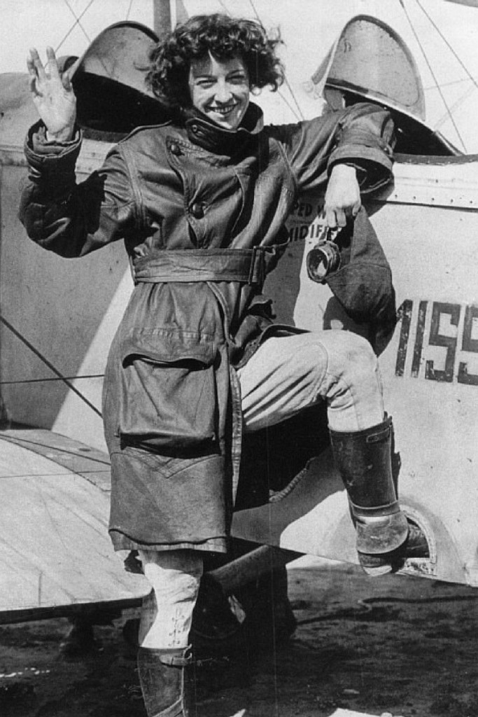 Who Taught Amelia Earhart to Fly?