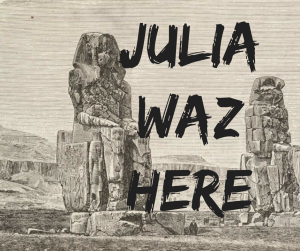 julia-waz-here