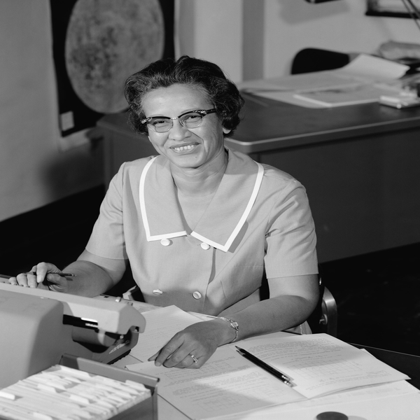 Who Is Katherine Johnson and Why is She Not Bitter?