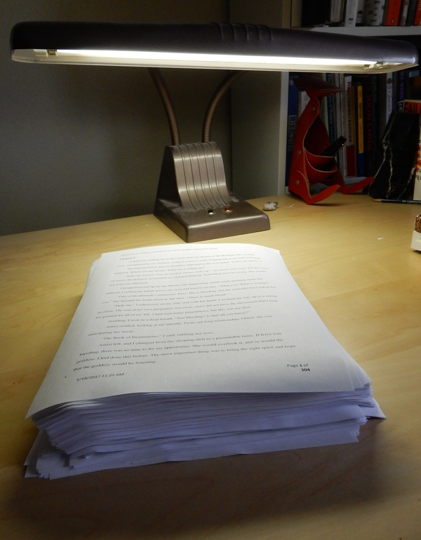 Thank Goodness!  I Finished the First Draft of My Latest Novel!