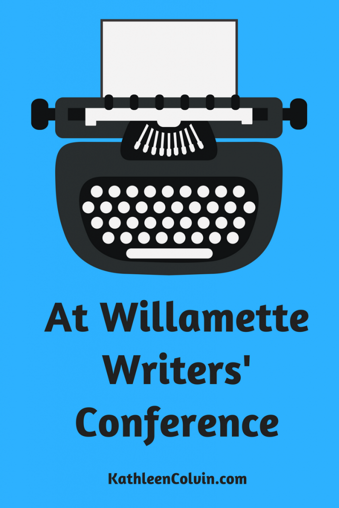 Out to Willamette Writers' Conference