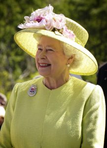 Queen Elizabeth Visiting the United States in 2007