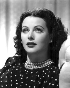 Hedy Lamarr in 1944