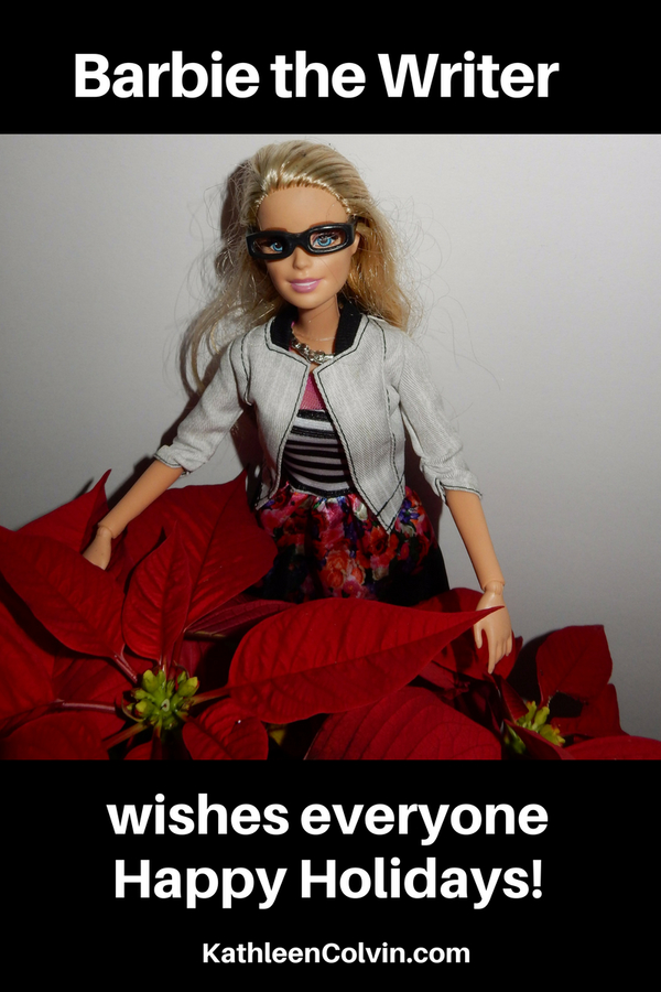 Barbie the Writer At Home – Holiday Wishes