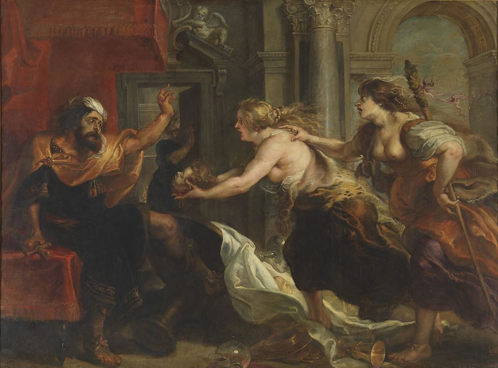 Rubens Painting of the Revenge of Philomela