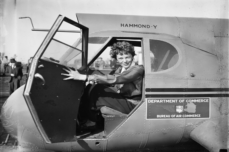 Would Amelia Earhart Have Been a Pilot Without Her Parents?
