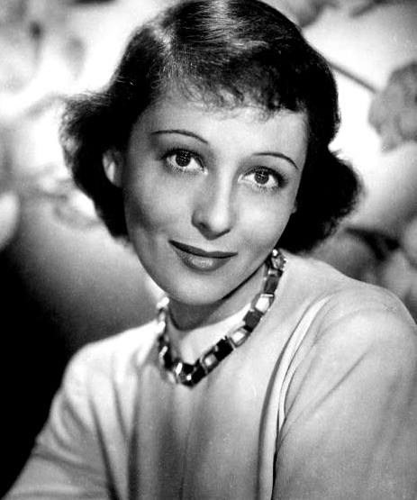 Photograph of Luise Rainer