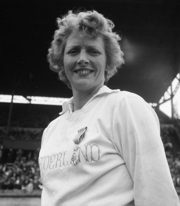 Olympic Athlete Fanny Blankers-Koen (1918 -2004) Wasn't Perfect
