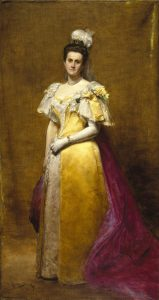 Painting of Emily Roebling