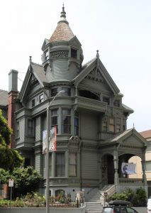 A photograph of the Haas-Lilenthal House
