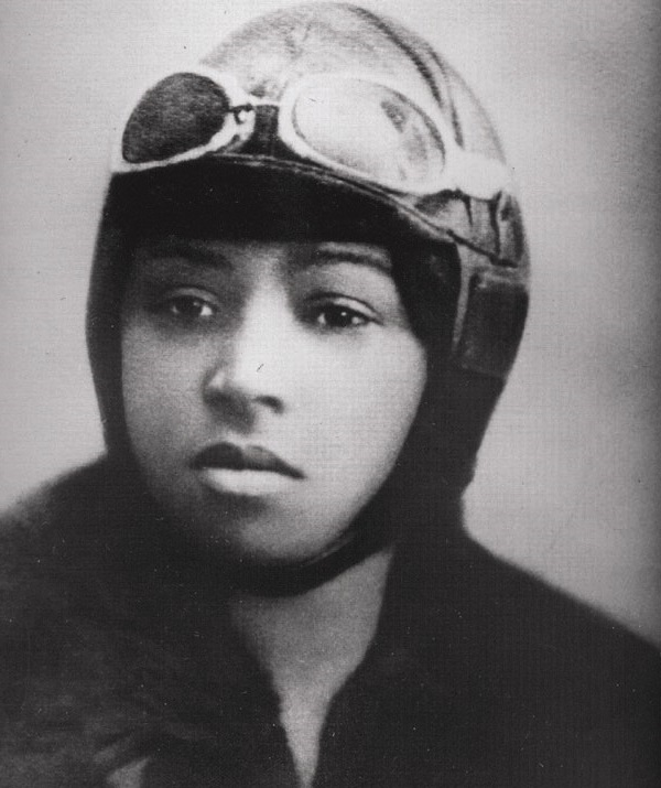 Daring Aviatrix Bessie Coleman (1892 – 1926) Had Encouragement