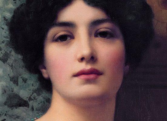 Painting of Roman Woman by Godman (1903)